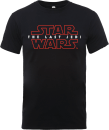Star Wars The Last Jedi Men's Black T-Shirt