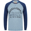 Tokyo Laundry Men's Redwing Cove Long Sleeve Top - Federal Blue