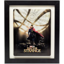 3D Black Collectors Frame with White Mount