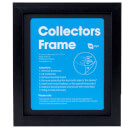 2D Black Collectors Frame with Black Mount
