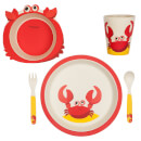 Sunnylife Kids' Eco Crabby Meal Set