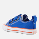 6145415471df Converse Toddlers  Chuck Taylor All Star 2V Ox Trainers - Hyper Royal Bright  Poppy