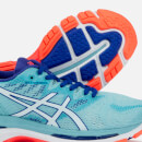 Asics Running Women's Gel-Nimbus 20 Trainers - Porcelain Blue/White/Asics Running Blue