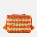 Nannacay Women's Roge Multi Thread Cross Body Bag - Off White/Orange