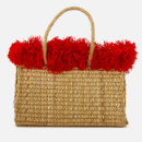 Nannacay Women's Xhios Tote Bag - Off White/Red
