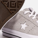 Converse One Star Ox Trainers - Ash Grey/White