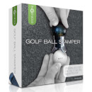 Golf Ball Stamper - Black/Silver