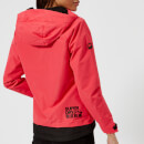 Superdry Women's Elite Windcheater - Hyper Red/Black