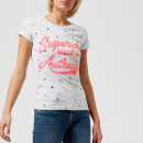 Superdry Women's Made Authentic Entry T-Shirt - Ice Marl