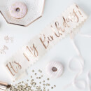 Ginger Ray Birthday Sash - Rose Gold