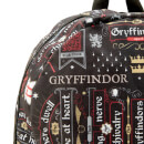Harry Potter Gryffindor Icon Sublimated Backpack - Black
