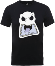 Disney The Nightmare Before Christmas Jack Skellington Angry Face Black T-Shirt