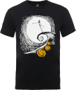 Disney The Nightmare Before Christmas Jack Skellington Pumpkin King Black T-Shirt