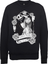 Felpa Disney The Nightmare Before Christmas Jack Skellington And Sally Black