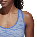 adidas Women's Ultra Primeknit Parley Tank Top - Blue/Grey