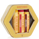 Burt's Bees Trio Tin Gift Set