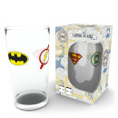 DC Comics Iconic Logos Large Glasses 16oz