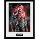 Justice Leage Cyborg Solo Framed Photograph 12 x 16 Inch