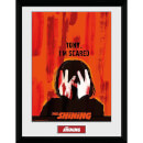 The Shining Scared Framed Photograph 12 x 16 Inch