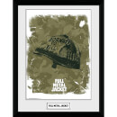 Full Metal Jacket Helmet Framed Photograph 12 x 16 Inch
