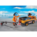 Playmobil City Action Aircraft Tug with Ground Crew (5396)