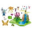 Playmobil Mystical Fairy Glen with Glowing Flower Throne (9135)