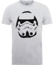 T-Shirt Homme Paint Spray Stormtrooper - Star Wars - Gris
