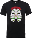 Star Wars Day Of The Dead Stormtrooper T-Shirt - Black