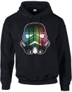 Star Wars Vertical Lights Stormtrooper Pullover Hoodie - Black