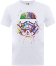 Star Wars Paint Splat Stormtrooper T-Shirt - White