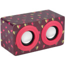Intempo Mini Blaster Speaker - Dotty Heart