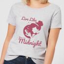 Disney Princess Midnight Women's T-Shirt - Grey