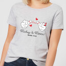 Disney Mickey Mouse Love Hands Women's T-Shirt - Grey