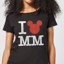 Disney Mickey Mouse I Heart MM Women's T-Shirt - Black