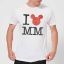 T-Shirt Homme I Heart MM Mickey Mouse (Disney) - Blanc