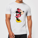 T-Shirt Homme Bisou Minnie Mouse (Disney) - Gris