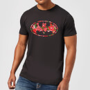 DC Comics Floral Batman Logo T-Shirt - Black