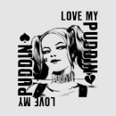 DC Comics Suicide Squad Harley Love Puddin T-Shirt - Grey