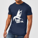 "Camiseta DC Comics Batman ""The Strong Silent Type"" - Hombre - Azul marino"