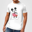 Disney Mickey Mouse Heart Gift T-Shirt - White
