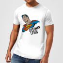 DC Comics Superman Lover T-shirt - Wit