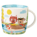 Little Rhymes Row Your Boat Spice Mug