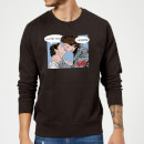 Sweat Homme Leia Han Solo Love (Star Wars) - Noir