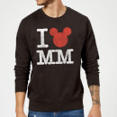 Sweat Homme I Heart MM Mickey Mouse (Disney) - Noir