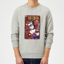 Sweat Homme Harley Quinn Mad Love - Batman (DC Comics) - Gris