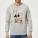 Disney Mickey Mouse Love Bug Sweatshirt - Grey
