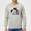 Star Wars Leia Han Solo Love Sweatshirt - Grey