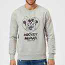 Sweat Homme Mickey Mouse et Minnie Depuis 1928 (Disney) - Gris