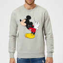 Sweat Homme Bisou Mickey Mouse (Disney) - Gris