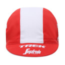 Santini Trek-Segafredo 18 Cotton Race Cap - Red